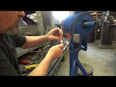 How to make a welding rotator