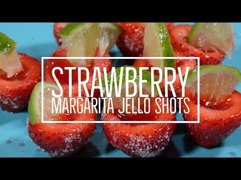 Strawberry Margarita Jello Shots | CheapCaribbean.com