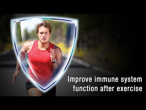 Boost immune system function after exercise - Wellmune Beta Glucan Studies