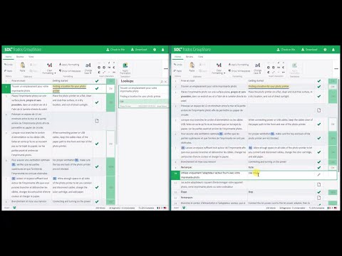 How to use the Online Editor in SDL Trados GroupShare 2017 SR1