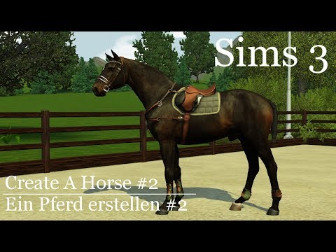 The Sims 3 - Create A Horse #2 [DWFS Necromancer]