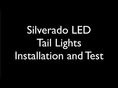 1999-2002 Silverado LED Tail Light Installation