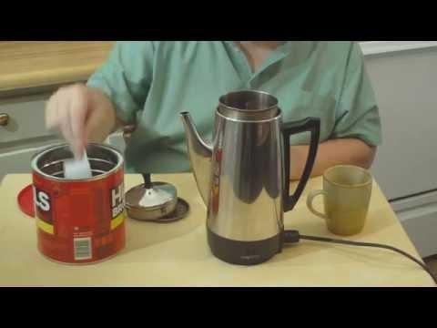 Presto 12 Cup Percolator Coffee Pot 02811