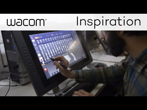 Wacom Cintiq For Game Design at The Savannah College of Art and Design
