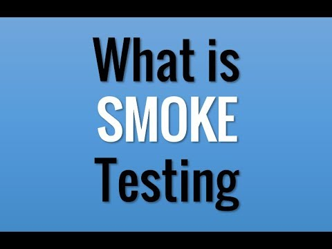 What is Smoke Testing? in 1 minute