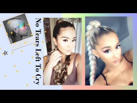 Ariana Grande No Tears Left To Cry|| Hair Tutorial