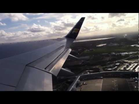 Takeoff from London Heathrow bound for Reykjavik Iceland