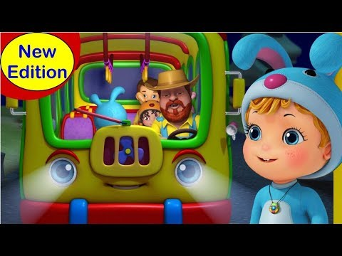 The Wheels on the Bus New Version | Rhymes for Kids | Infobells