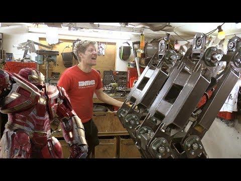 Making the Hulkbuster Part 1-Legs, Huge Hydraulic Legs