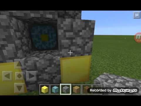 Como fazer o portal do nether no minecraft 0.11.1.