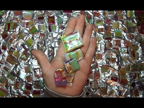 Do It Yourself Recycle Old CD Into Art Candy Tiles