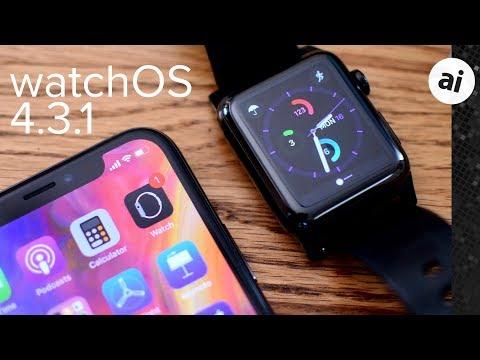 Everything New in watchOS 4.3.1 Beta