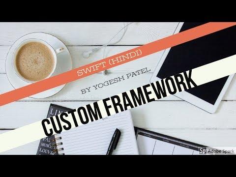 Swift 4 & Xcode 9:-How To Create Custom Framework Using CocoaTouchFramework in iOS Latest 2017 Hindi