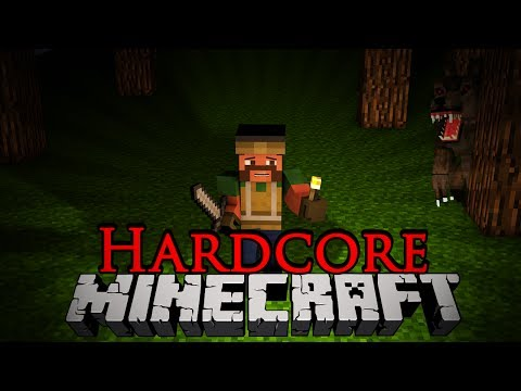 Let's Get Hardcore! - 1 WEREWOLVES?! [Season 3 Minecraft]