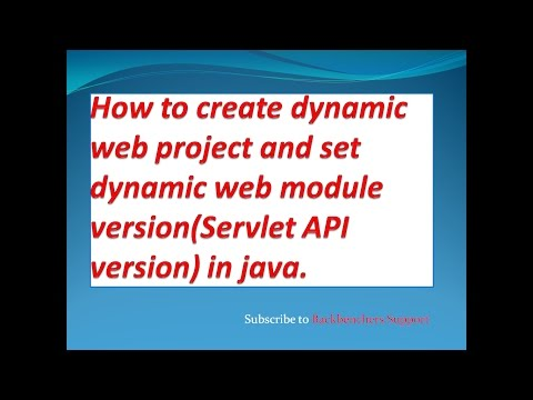 How to configure dynamic web module while creating dynamic web project?