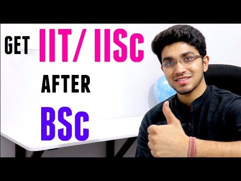 Get IIT/IISc after BSc    Joint Admission Test for MSc   JAM