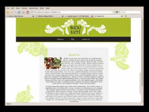 Webiva Rails CMS Introductory Screencast 1/3