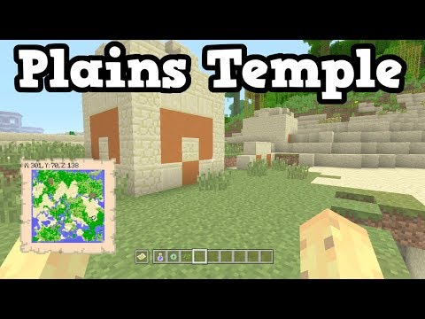 Plains Temple At Spawn?? Minecraft Xbox 360 / PS3 Seed