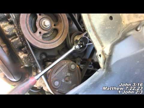Serpentine Drive Belt Remove & Replace