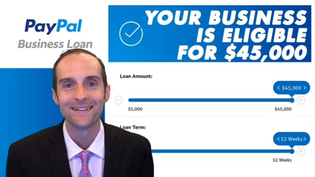 PayPal Business Loan Application Start to Finish Approved