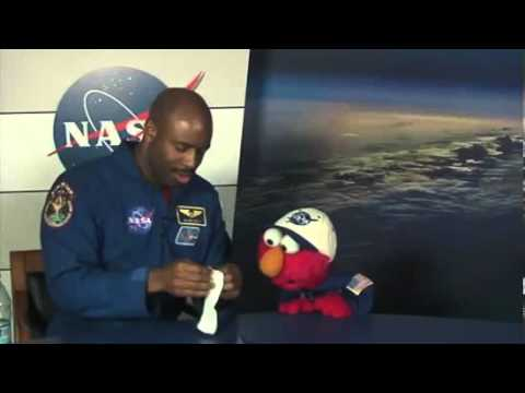 Staying Clean In Space with Elmo