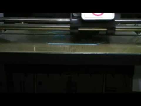 3d printing a quadcopter frame on the xyz da vinci