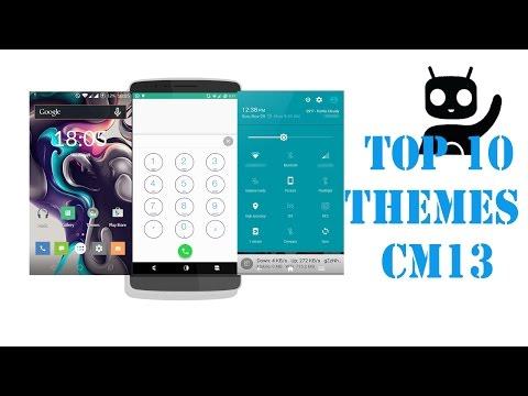 TOP 10 CM 12/13 Themes 2016- Free themes cm13