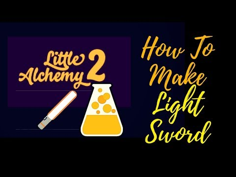 Little Alchemy 2-How To Make LightSword Cheats & Hints