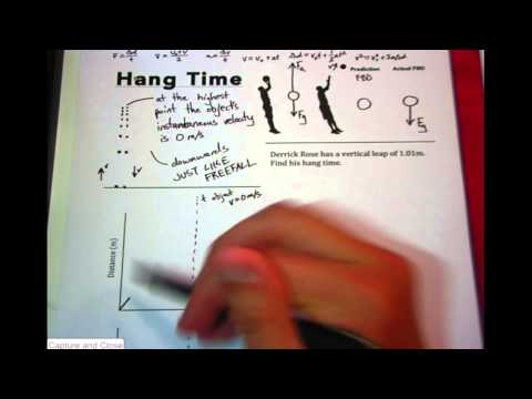 Mr. Wolfe Physics - Hang Time