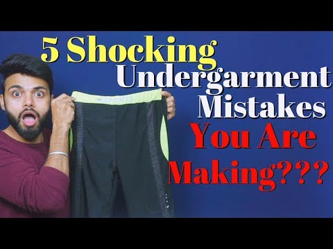 5 Shocking Undergarment Mistake, You are Making??? | Be Ghent | Rishi Arora