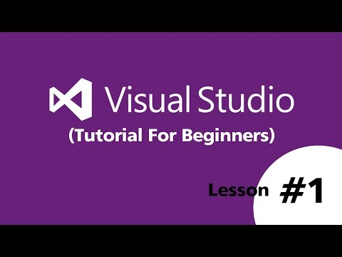 Visual Basic.Net 2015 (Beginners)   How to Create New Project and Run - Part 1