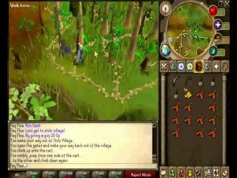How to get a red gecko in runescape!