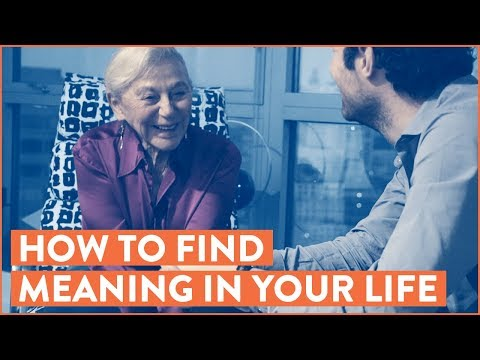 How To Find Meaning In Your Life: With Holocaust Survivor Eva Haller