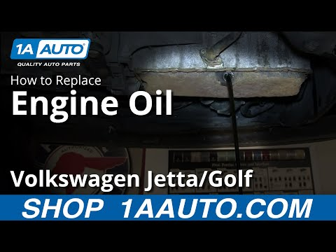 How To Do and Oil and Filter Change 1.8T VW Volkswagen Golf Jetta