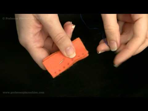 How To Sew A Whip Stitch Or Blanket Stitch