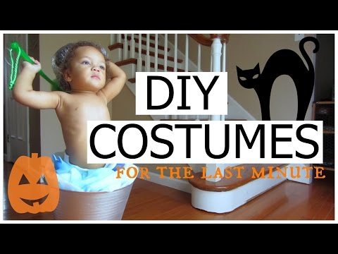 DIY | Easy Affordable Last Minute Halloween Costume Ideas | Toddlers and Kids