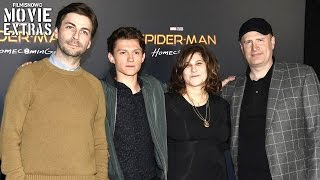 Spider man Homecoming Tom Holland Jon Watts Kevin Feige Talk About The Movie Cinemacon 2017