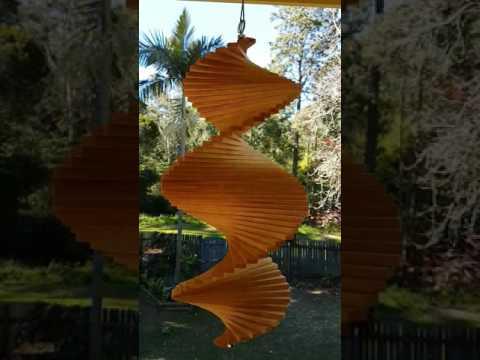 Wood wind spinner