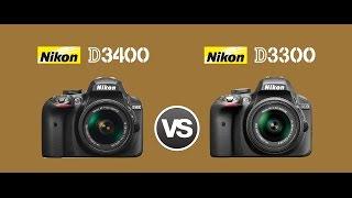 Nikon D3400 Vs Nikon D3300