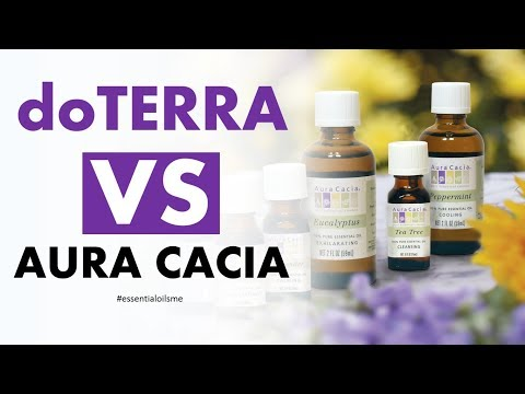 Outstanding doTERRA VS Aura Cacia Essential Oils Overview
