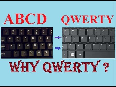 Keyboard के Letters ABCD न हो कर QWERTY फॉर्मेट में क्यों होता | Why QWERTY ?