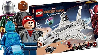Download LEGO Spider-Man Far From Home sets! Best Marvel set of 2019! Video