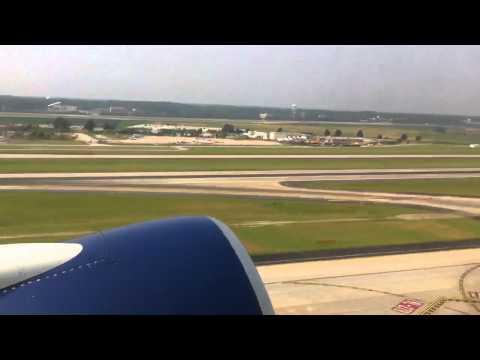 DTW-Detroit takeoff