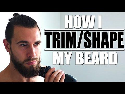 How I Trim/ Shape My Beard