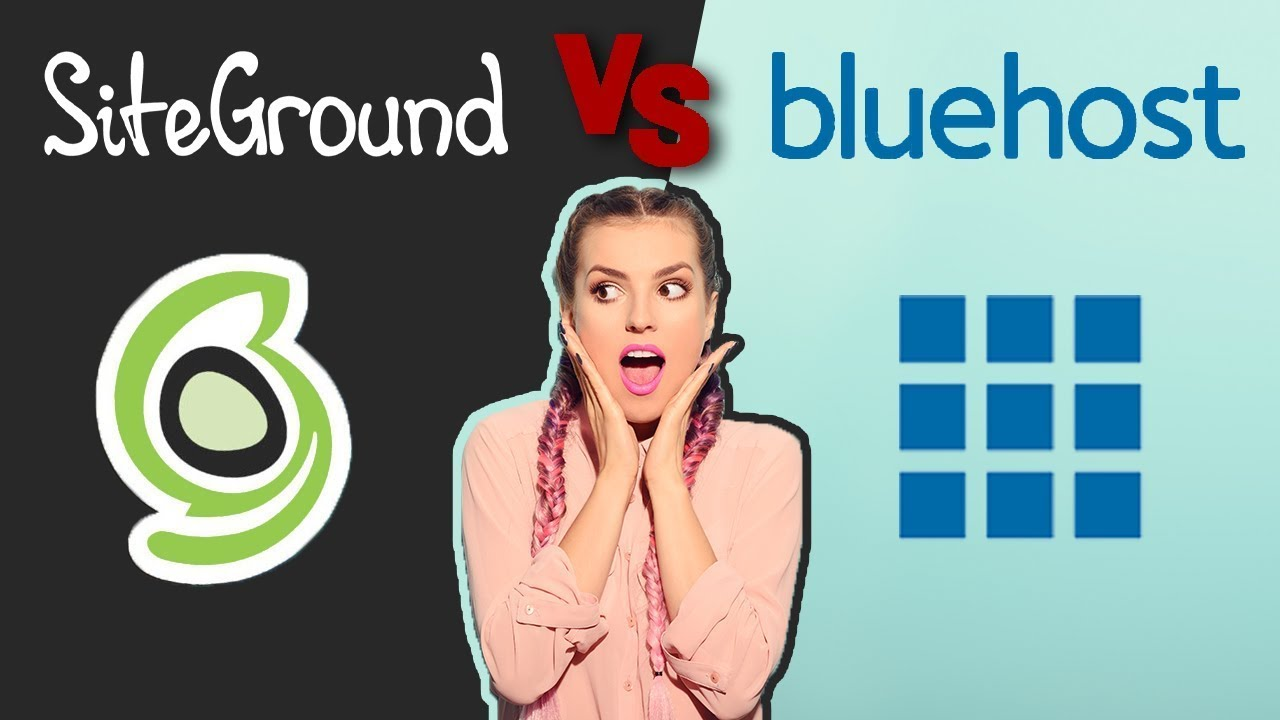 SITEGROUND vs BLUEHOST 🔥 Which one is the BEST for WORDPRESS????