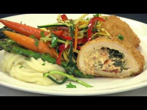 Stuffed Chicken Florentine Recipe | Overland Park Convention Center