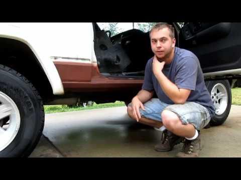 Project XJ Winter Beater: Part 11 XJ Floor Replacement 8/8