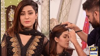 Make up tips to go with black dress - Good Morning Pakistan