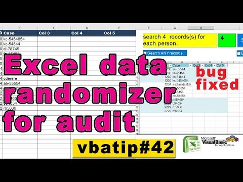 VBA Excel Randomizer- random number generator  - vbatip#42