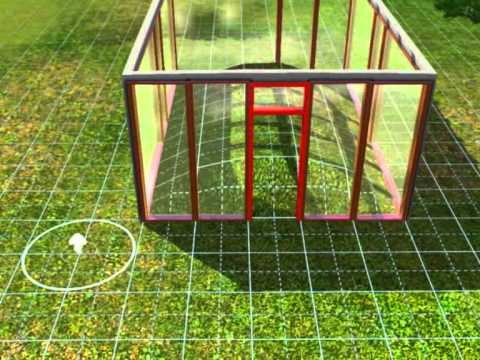 How to make a green house in sims 3